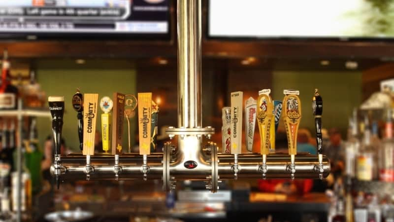 Chill Rite Beer Towers installed by RSI-Refrigerated Specialists, Inc. at Dallas's own Gas Monkey Bar N Grill.