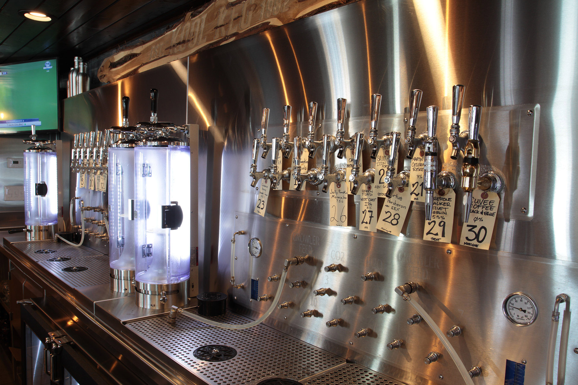 RSI Installs Growler Filling Station for Kool Keg - RSI-Refrigerated ...